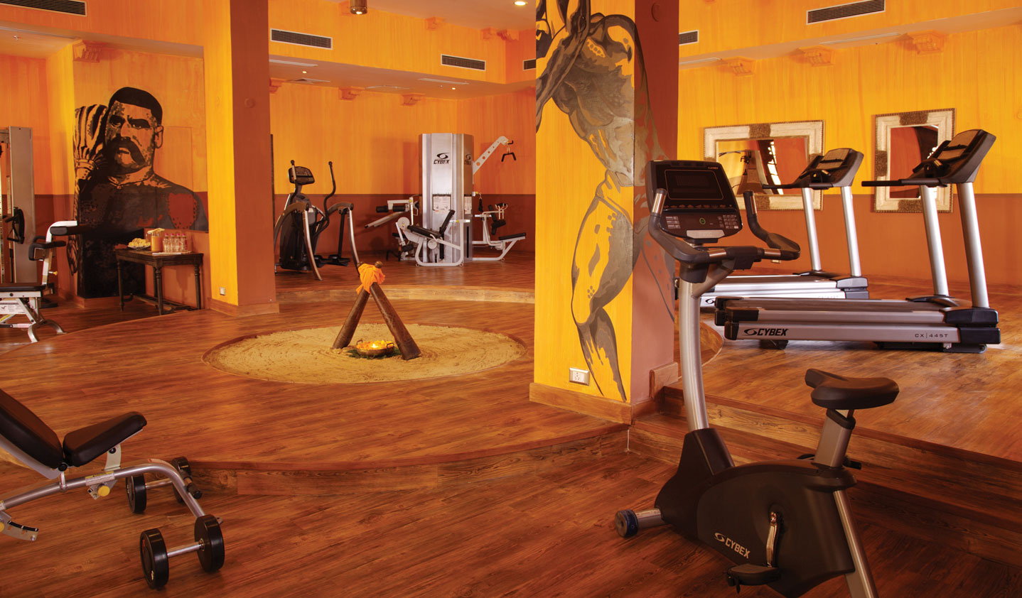 Akhara The Gym at Suryagarh, Luxury Hotel, Jaisalmer