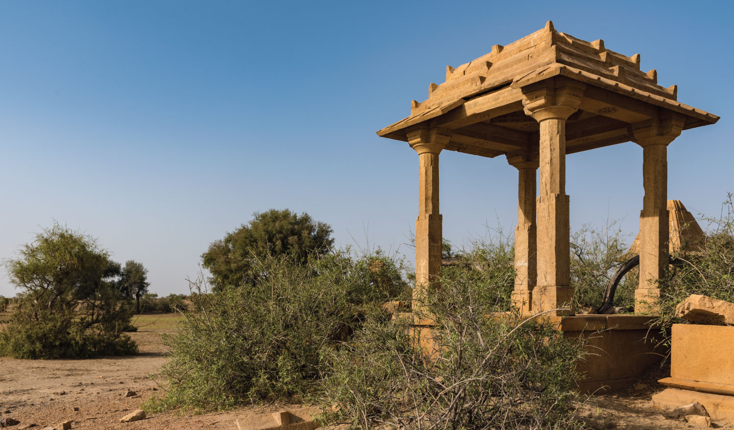 Mountain Bike Trail at Suryagarh, Jaisalmer, Rajasthan