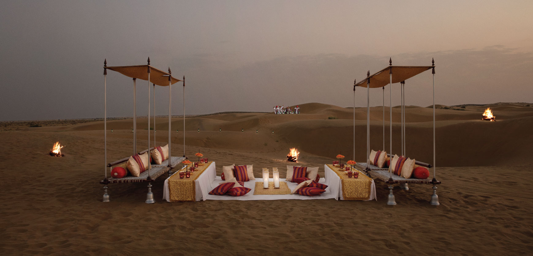 Experiences at Suryagarh Dinner on the Dunes